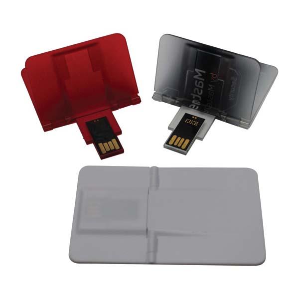 Credit Card Flip Flash Drive 2GB