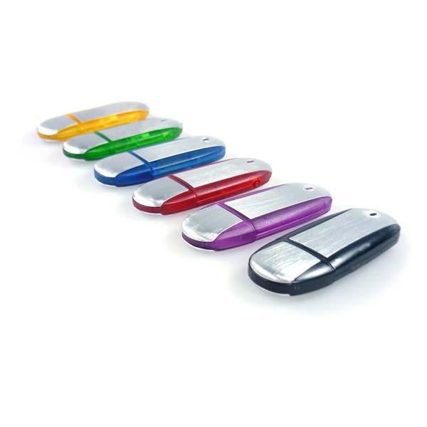 Oval Flash Drive - 4GB