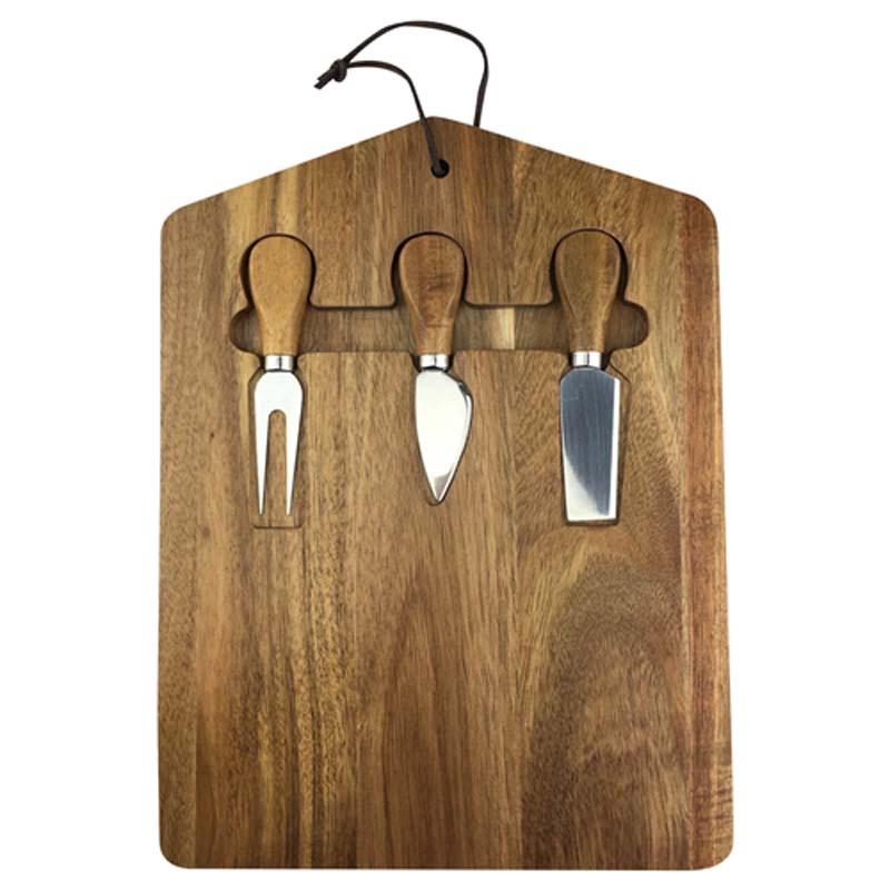 Trekko Cheeseboard and Knife Set