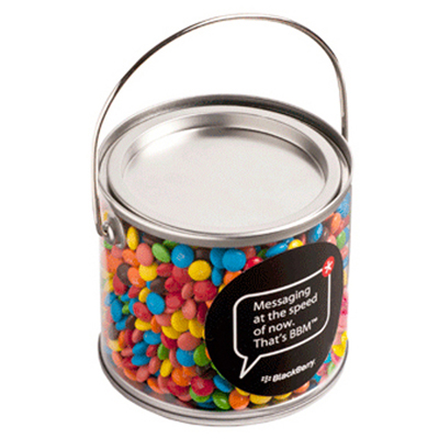 Medium Bucket Filled with M&Ms