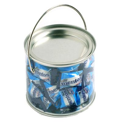 Medium Bucket Filled with Mentos