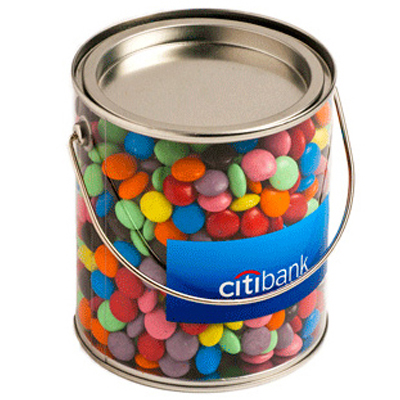 Big Bucket Filled With Choc Beans