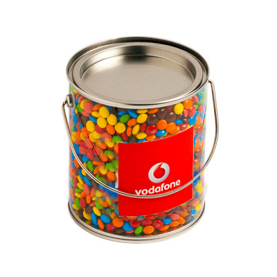 Big Bucket Filled with M&Ms