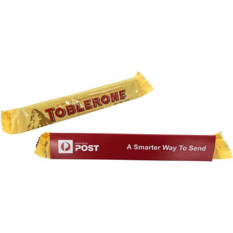 Toblerone 50g with Sleeve