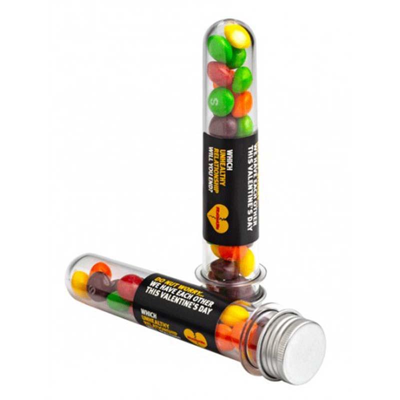 Test Tube with Skittles 40g