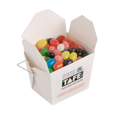 White Noodle Box - Jelly Beans 100g