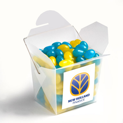 Frosted Noodle Box - Jelly Beans 100g