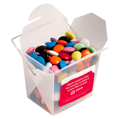 Frosted Noodle Box - Choc Beans 100g