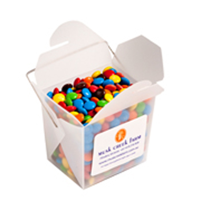 Frosted Noodle Box - M&Ms 100g