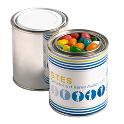 Paint Tin Filled with Jelly Beans 250g