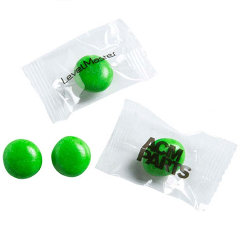 Individually Wrapped Green Big Chewy Fruits