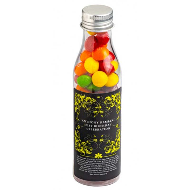 Soda Bottle with Skittles 100g