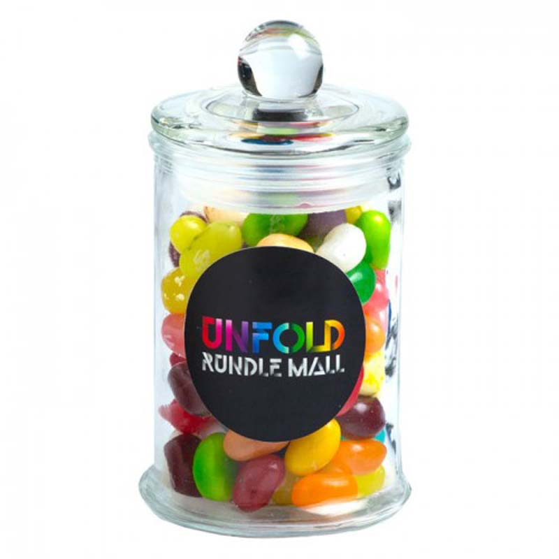 Small Jar filled with Jelly Belly Jelly Bean 115g