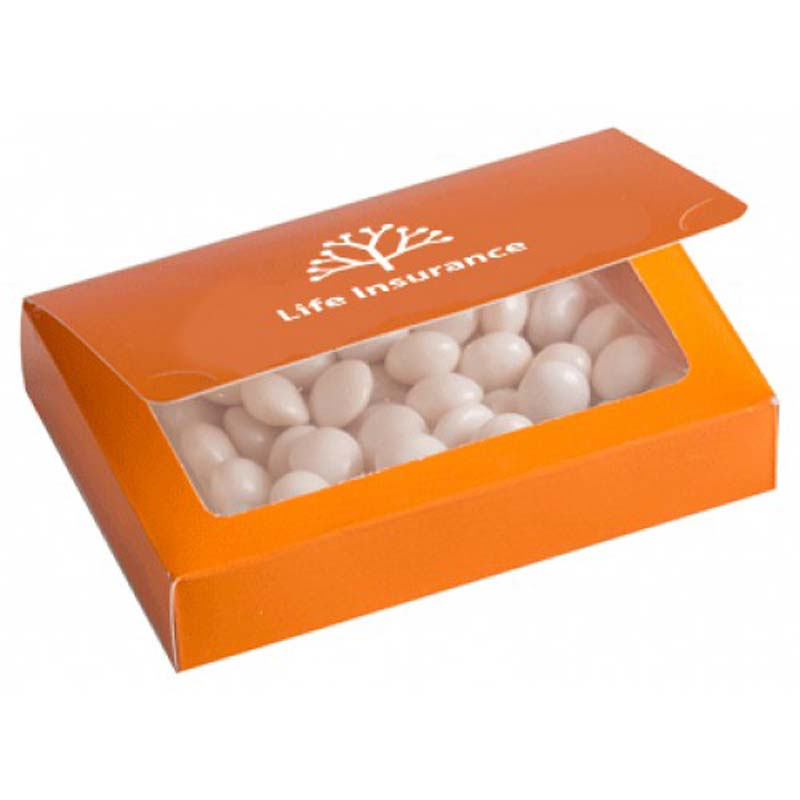 Full Colour Printed Bizcard Box with Mints 50g