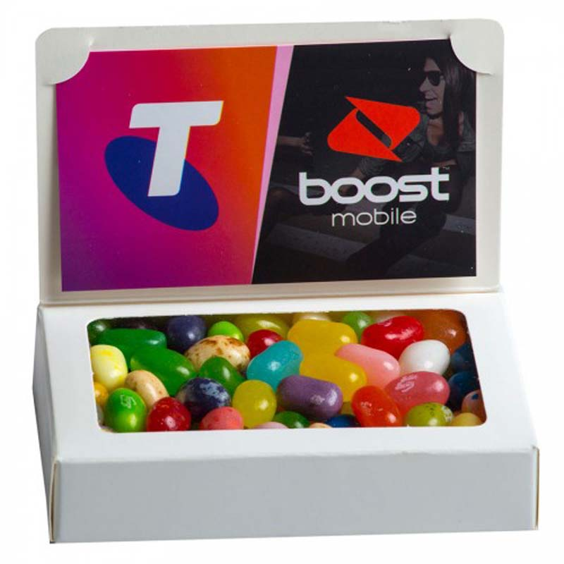 Bizcard Box with Jelly Belly Jelly Beans 50g