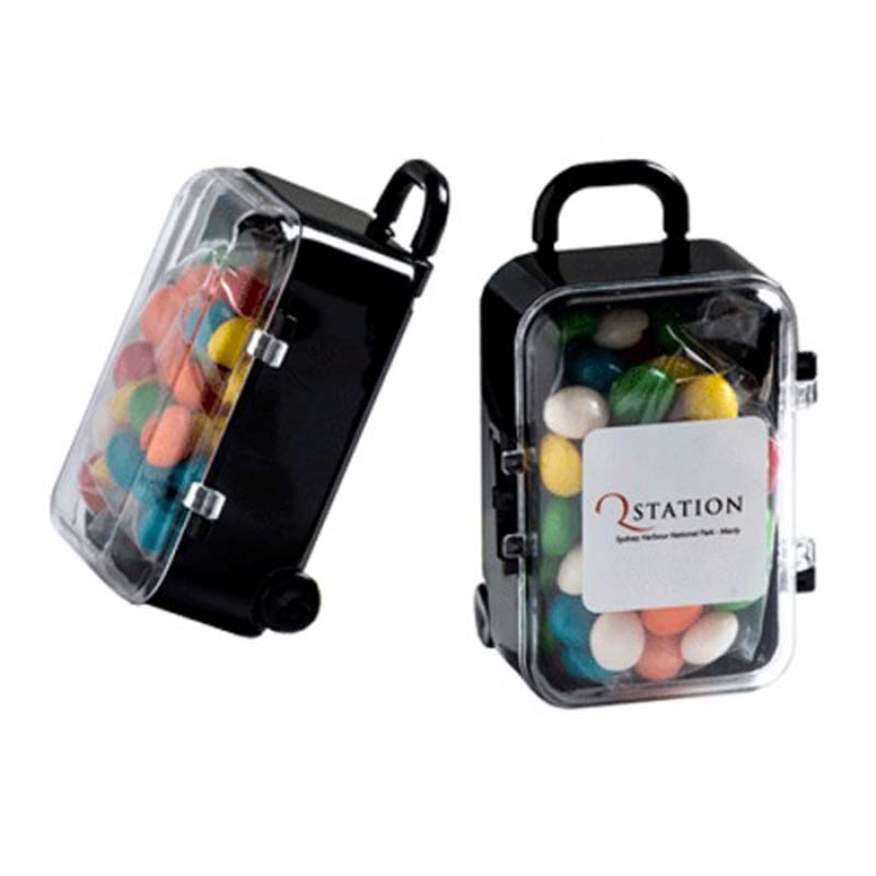 Carry-On Case with Chewy Fruits 50g