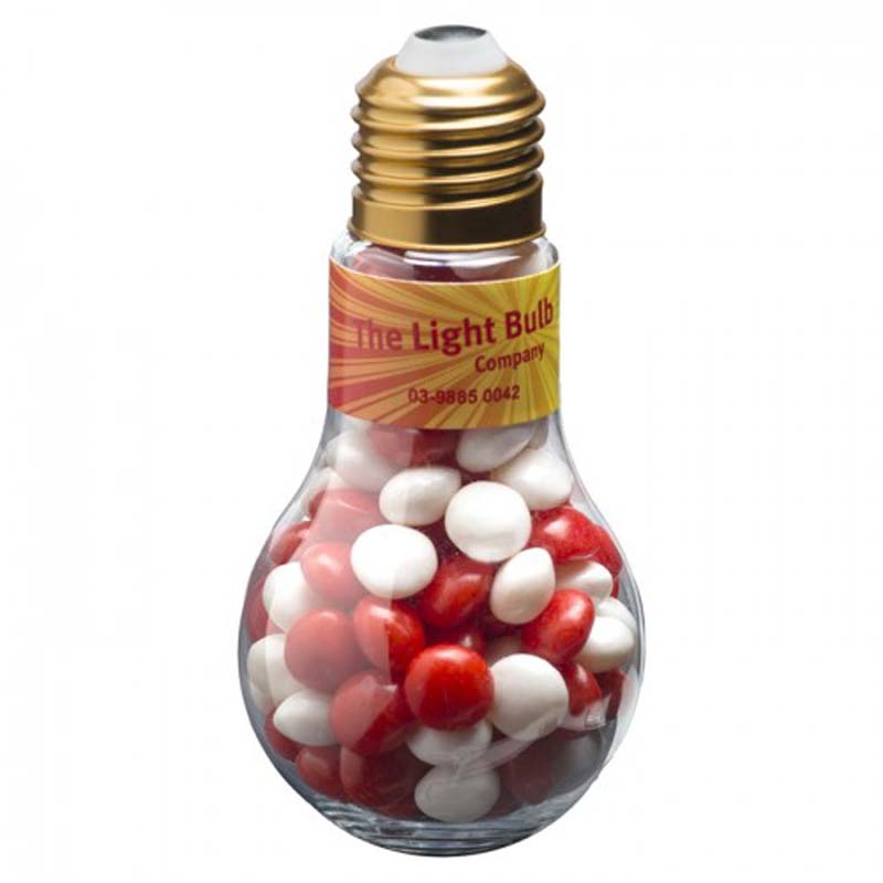 Light Bulb with Chewy Fruits 100g
