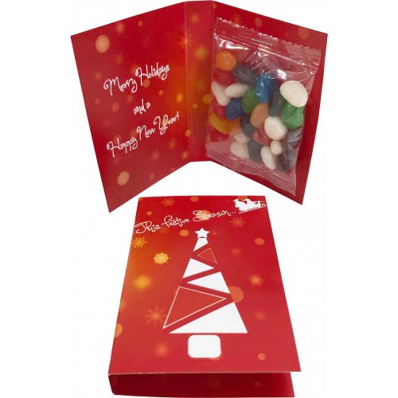 Gift Card with 25g Jelly Bean bag