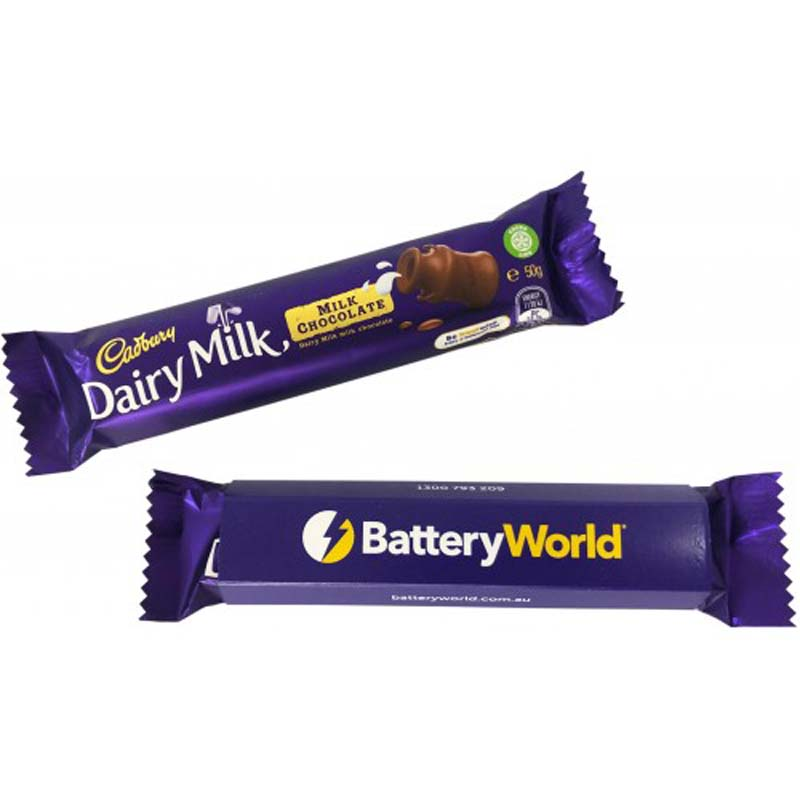 Dairy Milk 50g with Sleeve