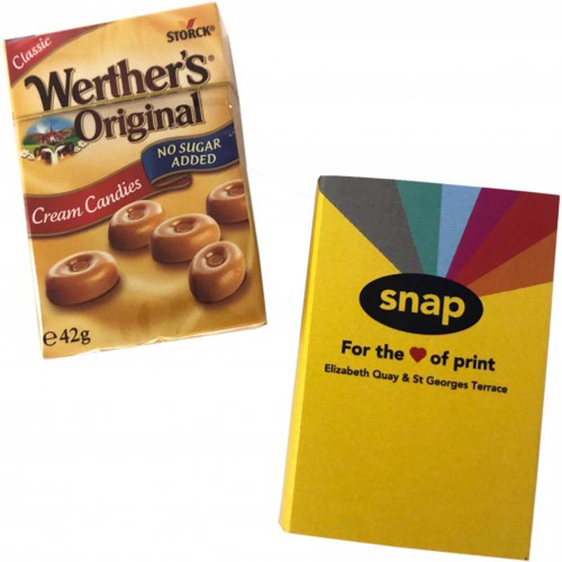 Werther's Original 42g Box with Sleeve