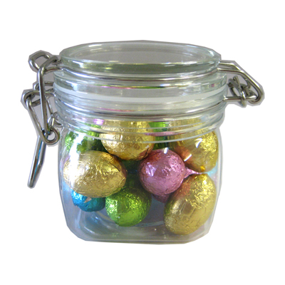 Mini Chocolate Easter Eggs in Canister