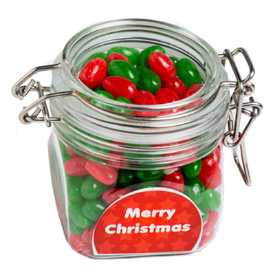 Christmas Jelly Beans In Canister 200G