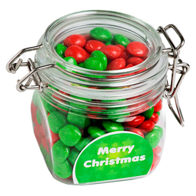 Christmas Chewy Fruits In Canister