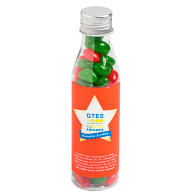 Christmas Jelly Beans In Soda Bottle 100G