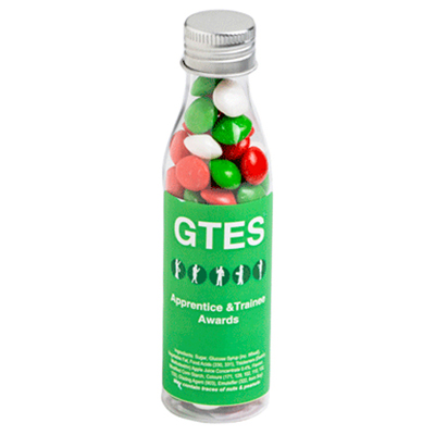Christmas Chewy Fruits In Soda Bottle