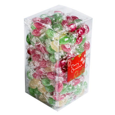 2KG Box of Christmas Boiled Lollies