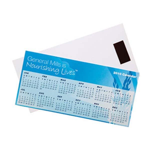 Horizontal Magnetic Tab Calendar