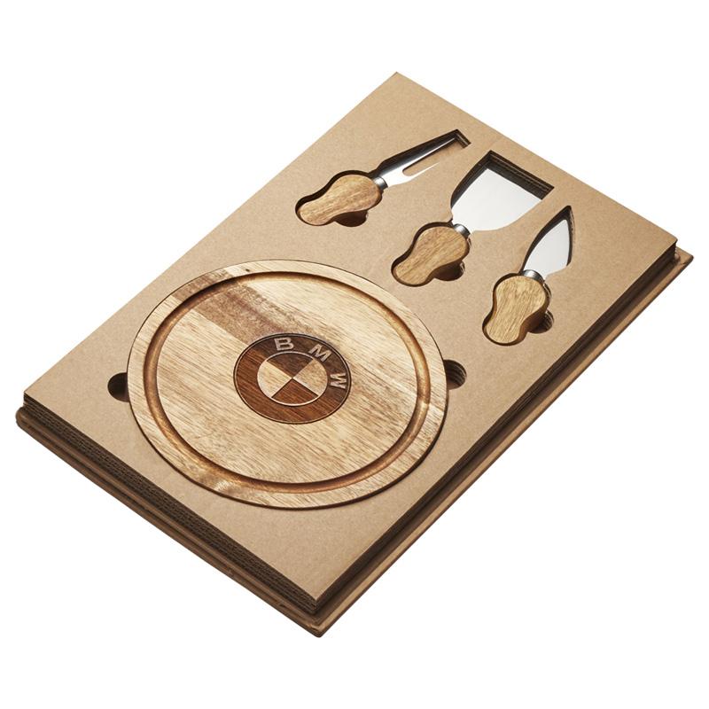 Cawdor Mini Cheese Board & Knife Set