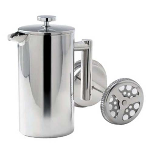 1.0 Litre Stainless Steel Coffee Plunger