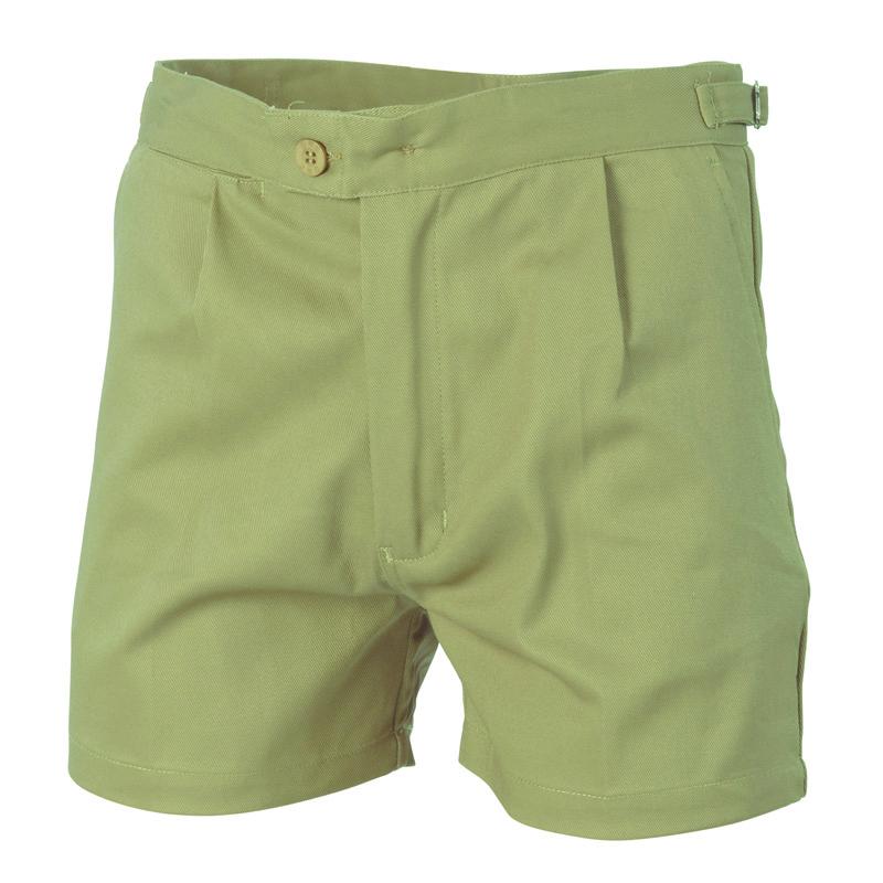DNC Cotton Drill Utility Shorts
