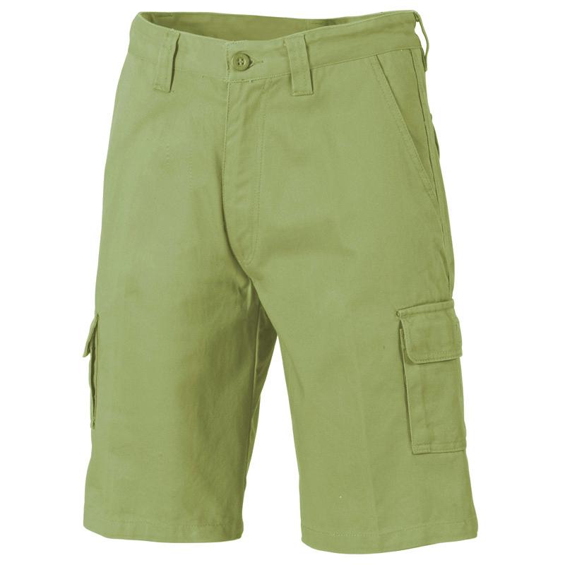 DNC Cotton Drill Cargo Shorts
