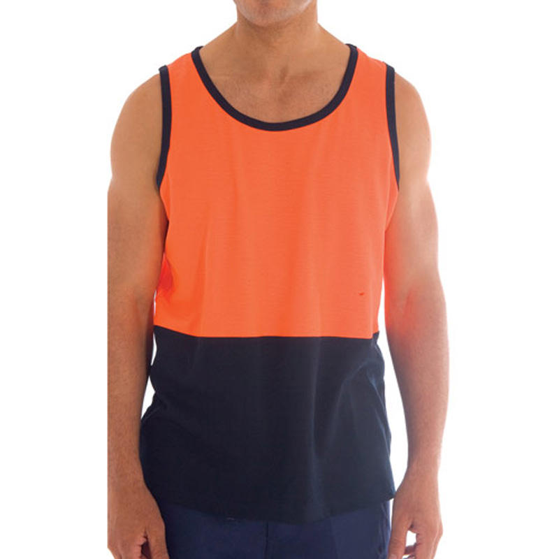 DNC Cotton Back Two Tone Singlet