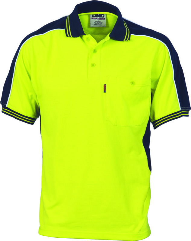 DNC Poly/Cotton Contrast Polo