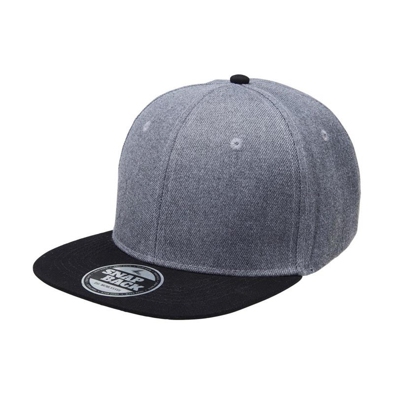 Heathered Snapback Cap