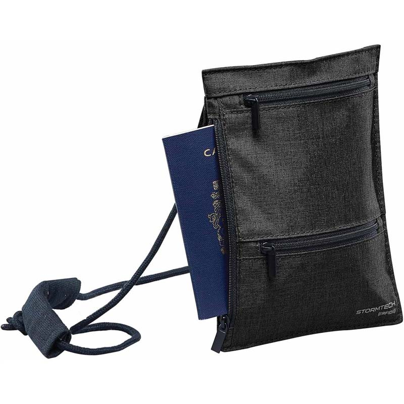 Cupertino RFID Passport Sling