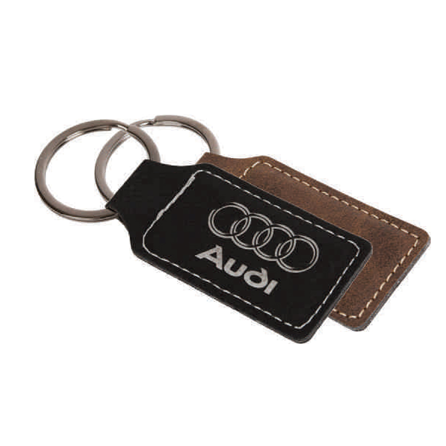 Agrade Sueded Leatherette Key Tag