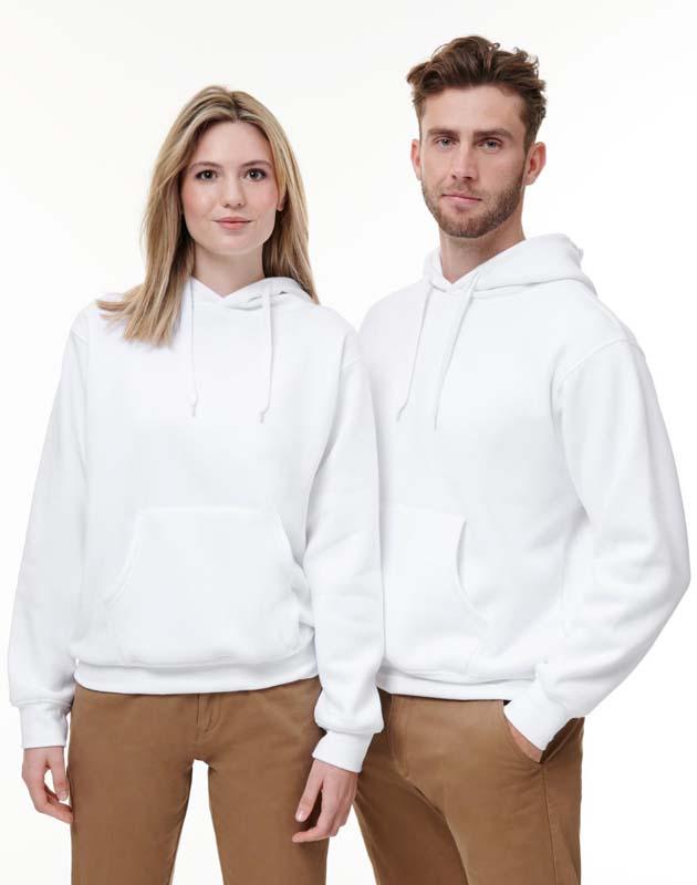Contrast Hooded Top