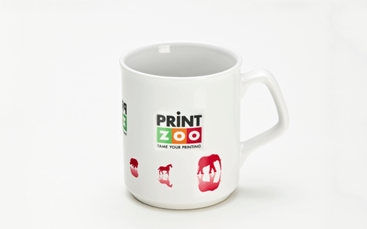 Full Colour Print Flare Promo Mug