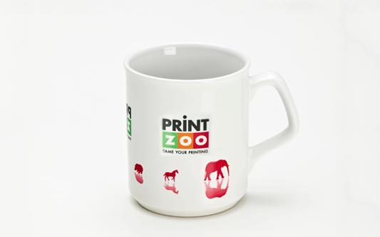 Full Colour Print Flare Promo Mug