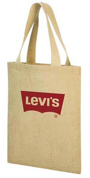 A4 Promotional Jute Shopper Bag
