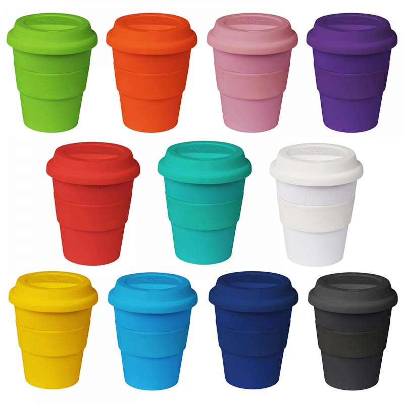 11oz/320ml Plastic Karma Kup Silicon Lid