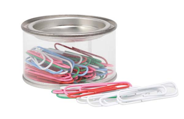 Paper Clips - Round Tin
