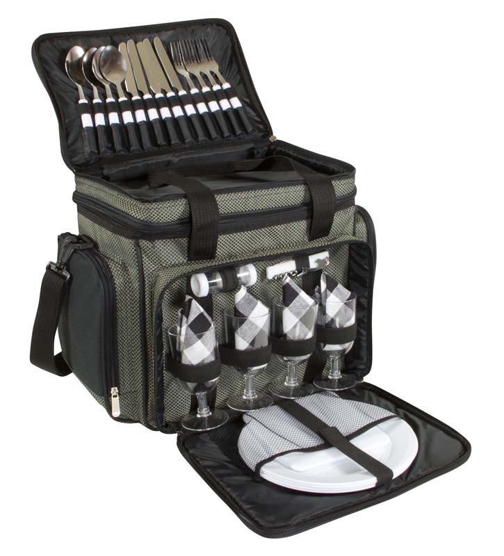 4 Persons Picnic Bag with Cooler