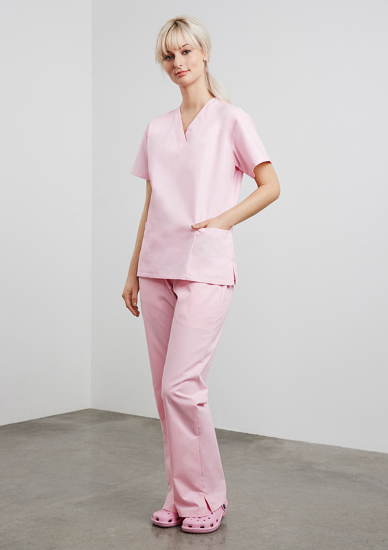 Ladies Bootleg Scrub Pant