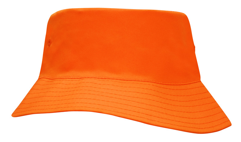 Breathable Poly Twill Childs Bucket Hat