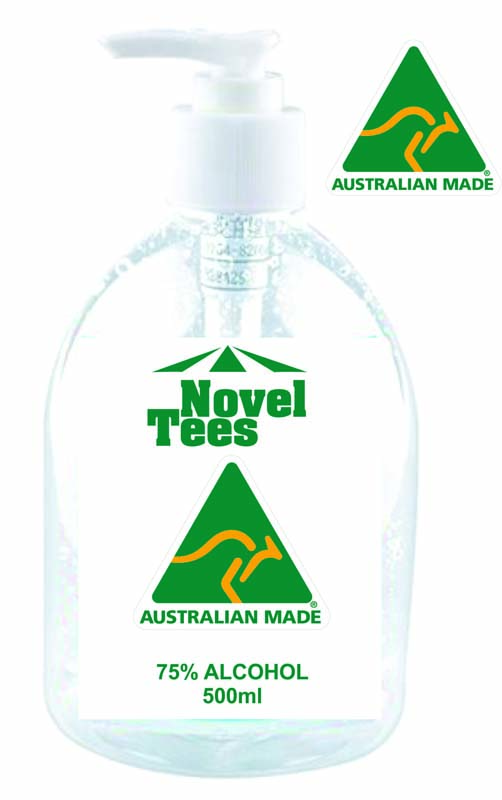 500ml Sanitiser Made in Australia